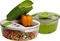 Овощерезка Multi Salad Chef 13 в 1, Набор для нарезки салатов, фото 9