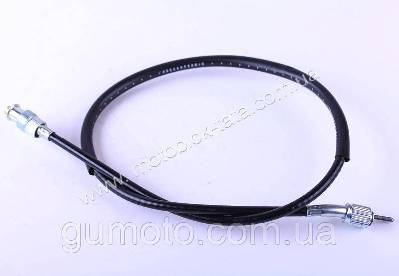Трос спидометра SX L-840mm (верх квадрат - внутрення резьба, низ вилка - наружная резьба) - Актив