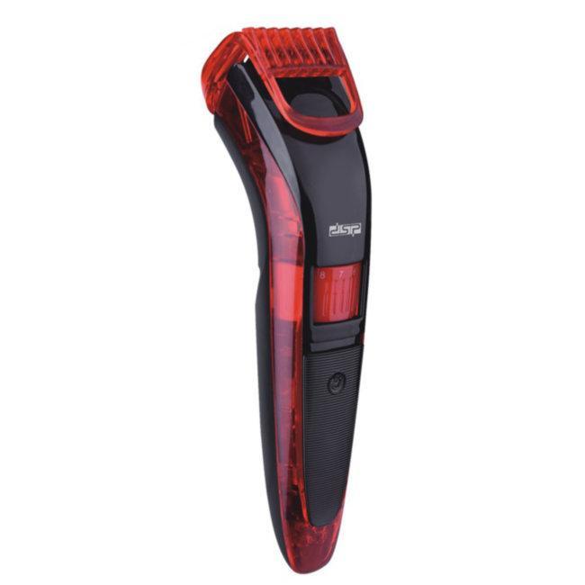 Машинка для стрижки беспроводная DSP F-90036 / триммер для стрижки ( Красный, Зеленый, Оранжевый)