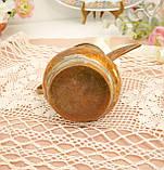 Антикварний арабська кавник, латунний чайник, даллах, латунь, 400 мл, фото 5