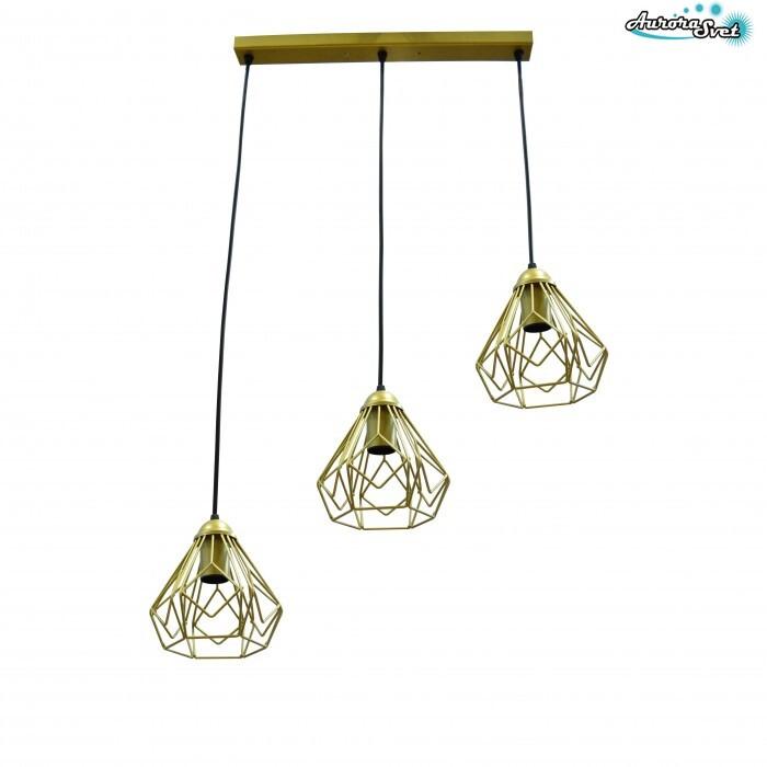 Люстра потолочная AuroraSvet loft  daisy золотая. светильник люстра. Светодиодный светильник люстра.