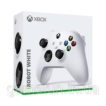 Джойстик Xbox Series X, Xbox Series S, Robot White (Оригінал)