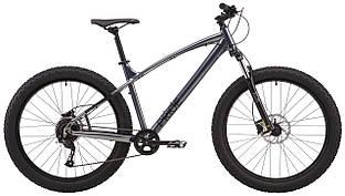 """Велосипед 27,5"""" Pride SAVAGE 7.1  2021 серый"""