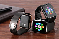 Смарт часы GT08 Gold умные часы Smart Watch