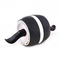 Ролик колесо для пресса с возвратным механизмом Perfect AB Carver Pro, лучший ролик тренажер для мышц живота, фото 2