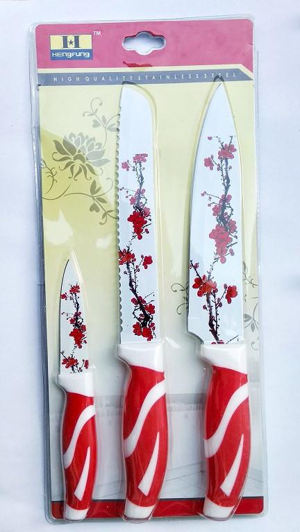 Набор кухонных металлокерамических ножей 3 шт/В23А