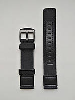 Нейлоновий ремінець для годинника, чорний. 20 мм, фото 1
