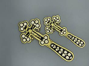 Крест напрестольный декорированный эмалью