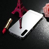 Чехол Fiji Mirror для Honor 9X Pro China силикон зеркальный бампер металлик