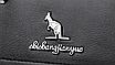 Сумка женская кожаная классическая Naty Черная, фото 8