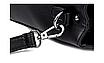 Сумка женская кожаная классическая Naty Черная, фото 7