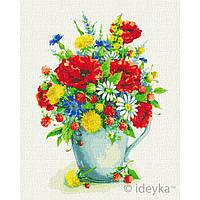 Картины по номерам - Лето в горшке © Елена Вавилина КНО2957 раскраски по цифрам ТМ Идейка
