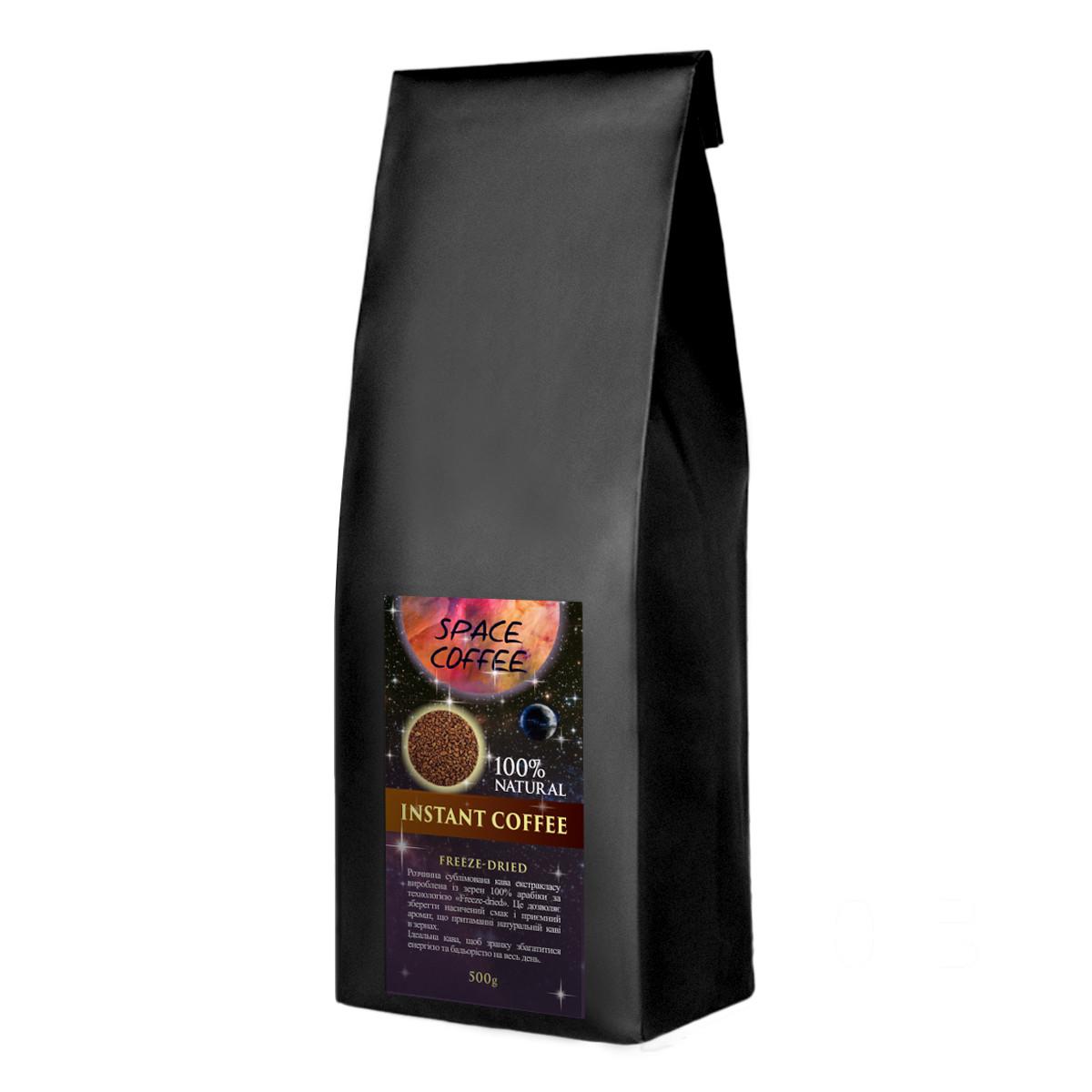 Кофе растворимый натуральный Space Coffee 100% арабика сублимированный 500 грамм