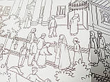 "Раскраска-плакат (100х60 см, в конверте) ""Паломничество в Киево-Печерскую лавру"", фото 5"