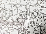 "Раскраска-плакат (100х60 см, в конверте) ""Паломничество в Киево-Печерскую лавру"", фото 6"