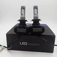 Світлодіодні LED лампи для фар автомобіля S1-H27, фото 5