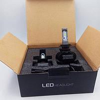 Світлодіодні LED лампи для фар автомобіля S1-H27, фото 6