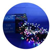 Новорічна світлодіодна гірлянда 400 M-3 мульти 400Led, фото 4