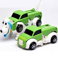 Детская игрушка трансформер машинка собака Развивающая игра для детей Компактная машинка-трансформер, фото 3