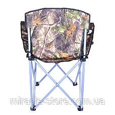 Посилений стілець складаний зі спинкою Good Luck туристичний рибацький, фото 3