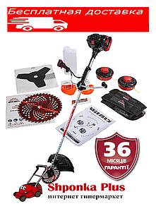 Мотокоса, бензокоса 1,9 л.с.Латвия Vitals Master BK 553AVs Black Edition, триммер бензиновый