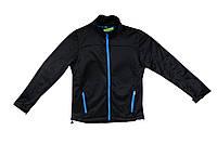 Спортивна чоловіча кофта водовідштовхувальна TOWN LAND M(48/50) чорний-синій
