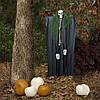 Декор для хэллоуина Призрачный Череп (95см) черный с бутылочно зеленым 10084