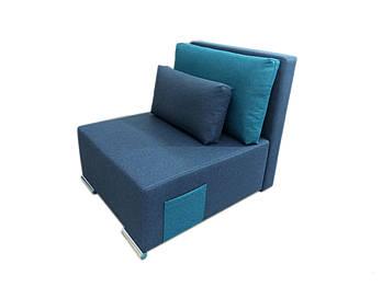 """Кресло кровать """"Lester"""" синее (Н80/Е85)"""
