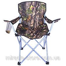 Посилений стілець складаний зі спинкою Good Luck туристичний рибацький, фото 2