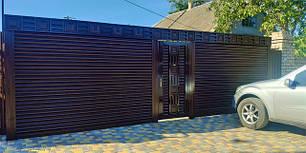 Роллетные ворота-стальные TM Hardwick