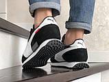 Чорні чоловічі легкі кросівки в стилі Puma Future Rider, фото 2