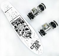 Пенни-Борд с противоскользящей поверхностью Best Board. БЕЗ РУЧКИ, фото 1