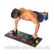 Доска для отжиманий Complete Push Up Training System 24 в 1, фото 3