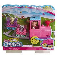 Иговой набор Barbie  Челси и поезд   FRL86