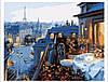 КНО 1107 Вид на Париж