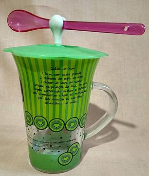 """Чашка дитяча з силіконовою кришкою """"Метелик"""", фото 2"""