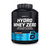 Гидролизат сывороточного протеина BioTech Hydro Whey Zero 1,8 kg без сахара глютена лактозы