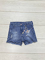 Джинсові шорти для дівчаток. 134 - 164 зростання.