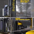 Паллетоупаковщик Pro Wrap-DM 400% с системой предрастяжения пленки до 400%(высшего уровня), фото 4