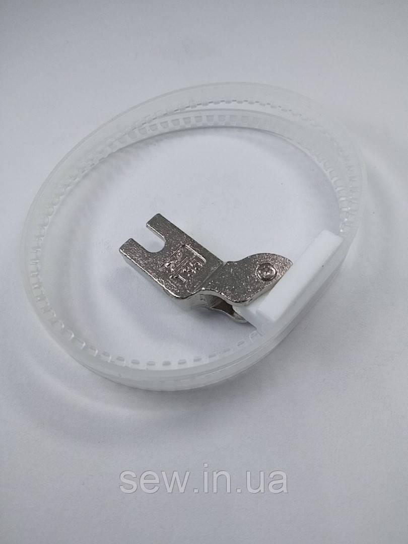 Лапка TRF-1 тефлоновая с кольцами на прямострочную швейную машину