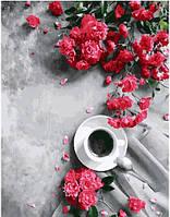 Картина по номерам 40*50 см Гармония ароматов