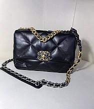 Сумка жіноча 1(р) чорна 1928 Chanel КНР D