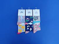 """НОВИНКА! Шкарпетки (27-30 розмір) бавовна для дівчаток """"YO SCORPIO"""" Польща"""