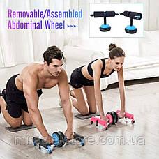 Універсальний тренажер для дому Multifunction Abdominal Wheel, фото 2