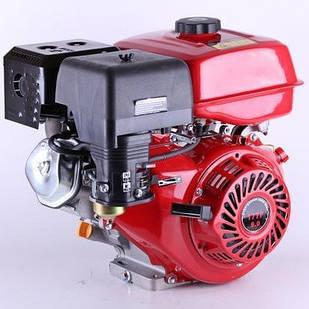 Двигатель бензиновый TATA 177FE (под шлицы Ø25мм, 9 л.с.) с электростартером