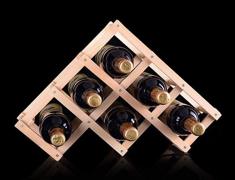 Підставка для вина на 6 пляшок Youe Світилася №1265
