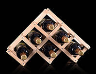 Підставка для вина на 6 пляшок Youe Світилася №1265, фото 1