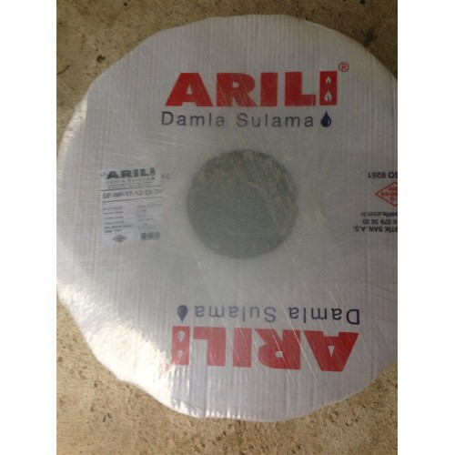 Капельная лента Arili 6 mil/20 см, водовылив 1.6 л/час, в бухте 500 м