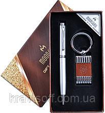 Подарочный набор Герб Украины 2в1 Ручка, Брелок А1-2