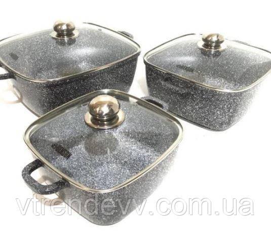 Набор посуды из 6 предметов Benson  BN-331
